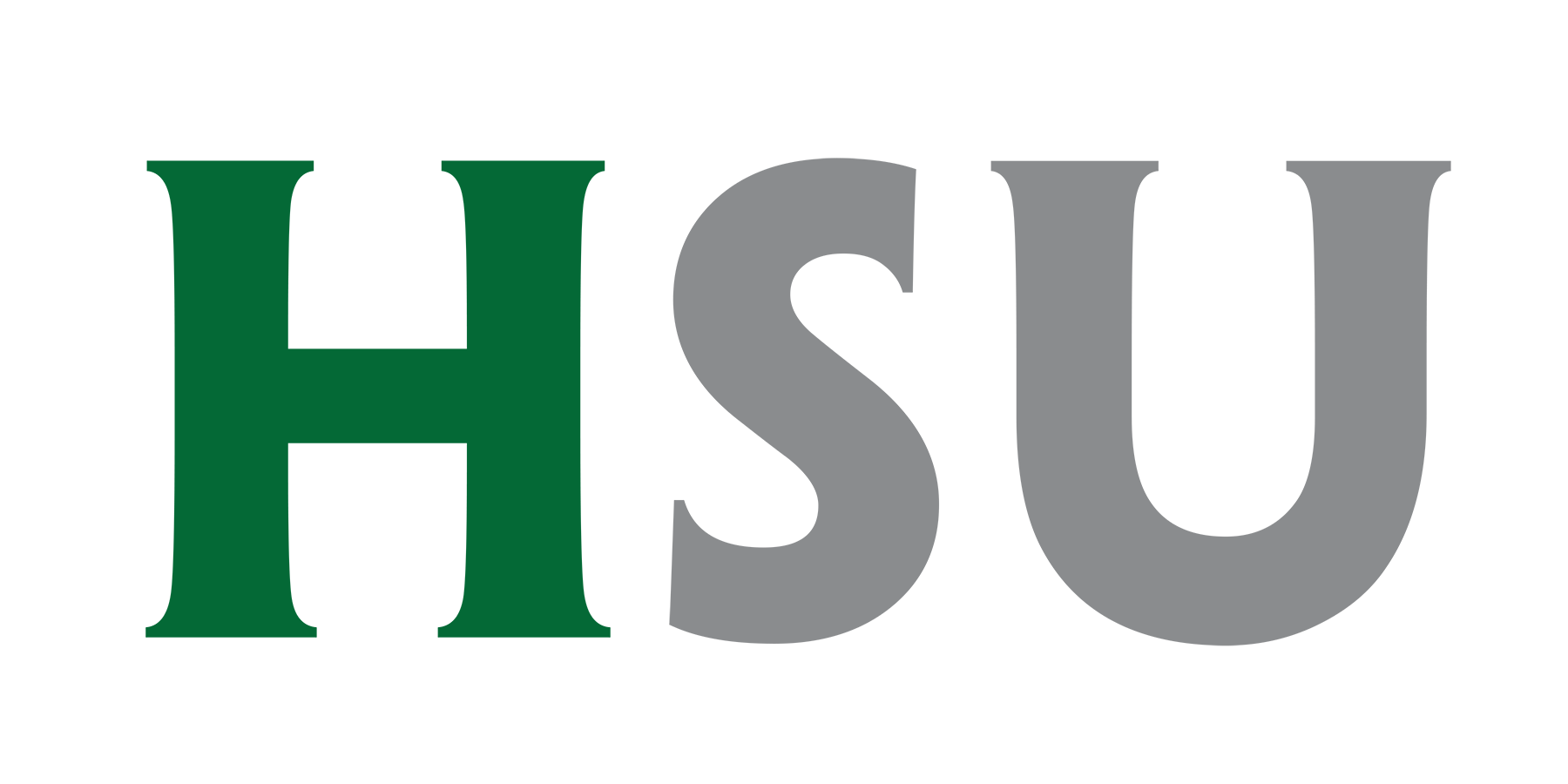 Logo for HSU (Humboldt State University)