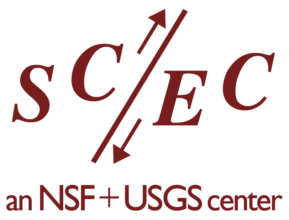 Logo for SCEC (Southern California Earthquake Center)